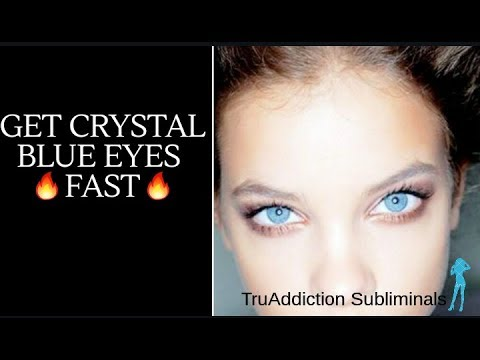 GET CRYSTAL BLUE EYES FAST🔥(NEW FORMULA)🔥~TruAddiction Subliminals