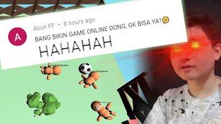 3 hari ngoding demi jawab nih orang! - game online pertama gw - Indie game developer