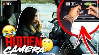 HIDDEN CAMERA IN CAR PRANK ON GIRLFRIEND! VLOGMAS DAY 11