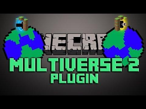 Multiverse Core Portals Bukkit Plugin Minecraft 1.7.2 | German| | Tutorial |