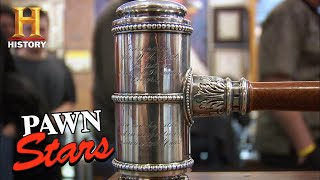 Pawn Stars: HISTORIC & PRICEY DEAL for William A. Clark