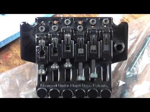 Floyd Rose tuning issues