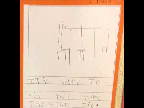 Kindergarten Rainbow Writing Rubric