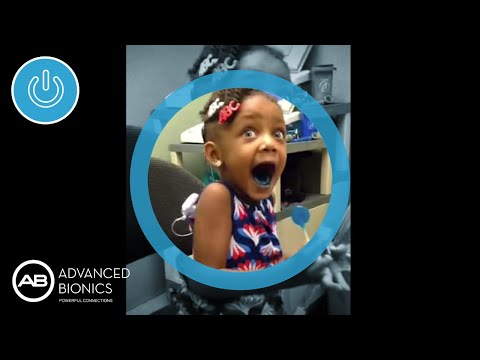Little Girl Hears for the First Time with her Cochlear Implant