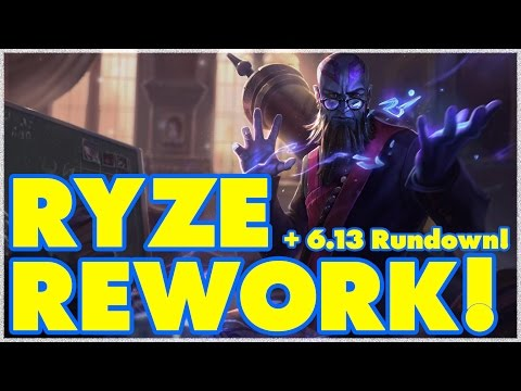 Scarra's Patch 6.13 Rundown + Thoughts on the Ryze Update