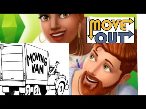 The Sims mobile how to make a sim move out or leave ur house