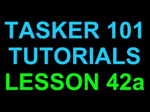 Tasker 101 Tutorials Lesson 42a - Location GPS - Auto Find My Car Profile