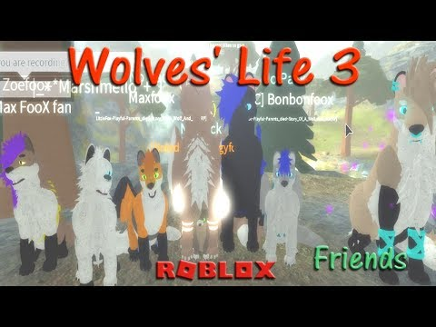 Roblox - Wolves' Life 3 - Friends XII - HD
