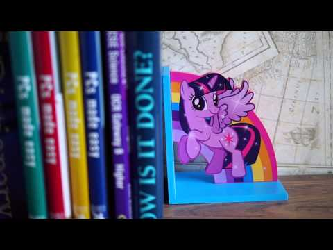 Twilight Sparkle Wooden Bookends