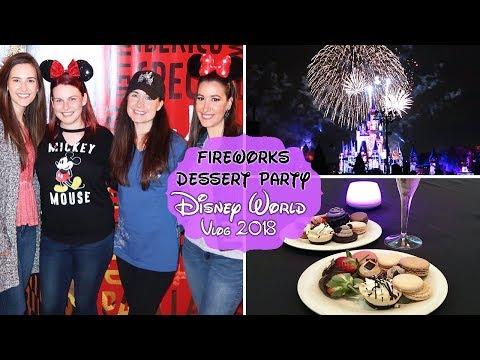 MAGIC KINGDOM DESSERT PARTY + MEETING DISNEY YOUTUBERS | Vlog 2018
