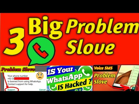 How To Fix 3 Big Problem in whatsapp
