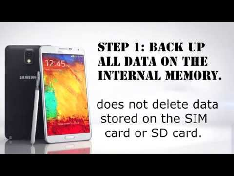 Samsung Galaxy Note 3 Hard Reset (Factory/Master Reset)
