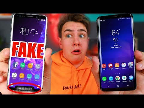 $99 Fake Samsung Galaxy S9+ - How Bad Is It?