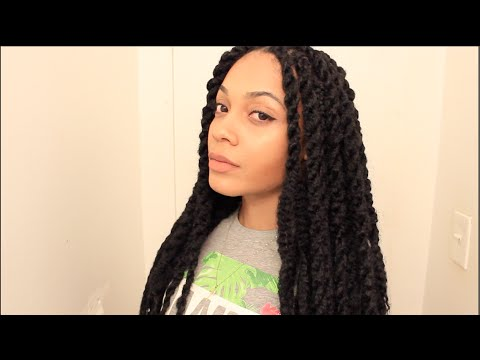 Quick & Easy Marley Twists || Detailed Tutorial (TheNotoriousKIA)