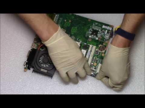 HP Pavilion DV6 GPU Replacement   Not BGA Reballing Laptop Repair