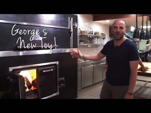 Commercial Wood Fired Oven for George Calombaris' Restaurant - Hellenic Republic Kew