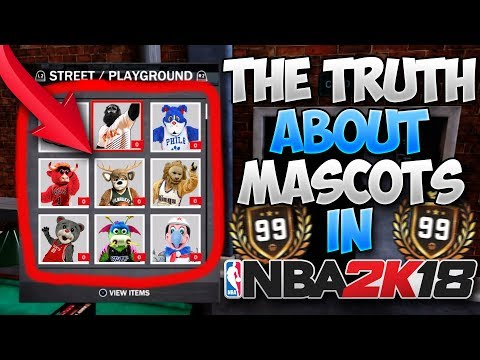 The Truth About MASCOTS in NBA 2K18... | PeterMc