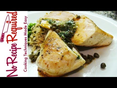 Chicken Breasts Stuffed Spinach and Cheese - NoRecipeRequired.com