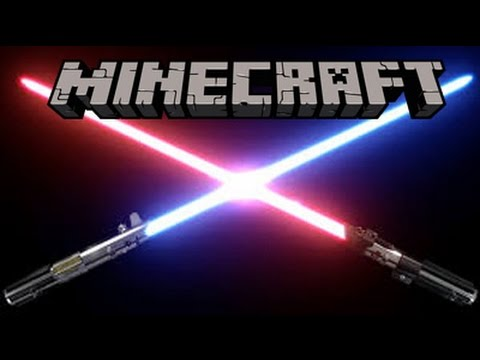 Minecraft- How To Make LightSabers(Star Wars- No Mods)