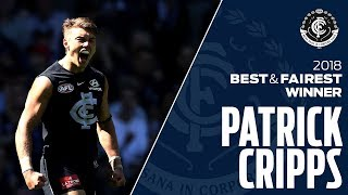 The best of Patrick Cripps in 2018 | Club Champion Series | AFL