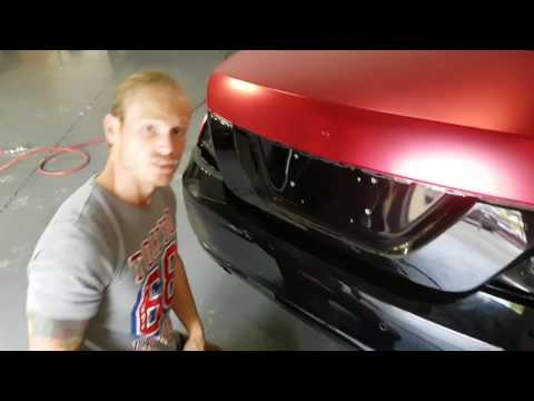 What not to do when vinyl wrapping. Primer 94 disaster. By @ckwraps