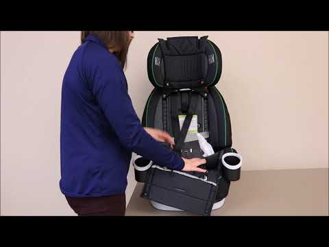 Transitioning Graco® 4EVER® to Highback Belt-Positioning Mode