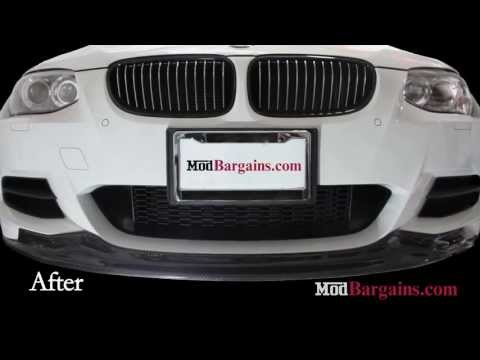 Carbon Fiber CPS Front Lip & Performance Trunk Spoiler on E92 BMW 335is