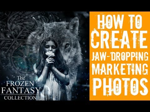 How to create JAW-DROPPING marketing photos for Etsy- without photoshop!