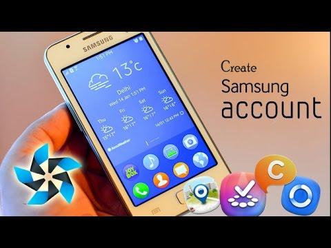 Begini cara  membuat akun Samsung di OS Tizen