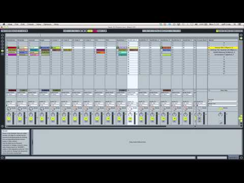 Ableton LIVE - Setting trigger points (session view)
