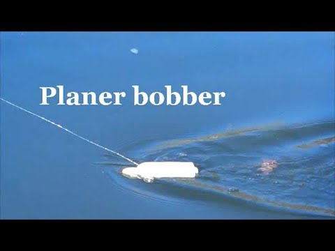 PLANER BOBBER!  demo FROM A BOAT ~ trolling ~ demonstration ~lake wylie