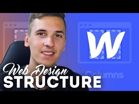 Starting out: Web Design Structure & Elements • Webflow Tutorial