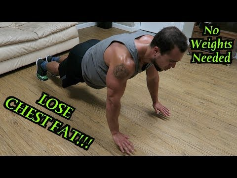 Intense 10 Minute At Home Fat Burning Chest Workout