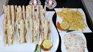 Club Sandwich کلب سینڈوچ / Cook With Saima