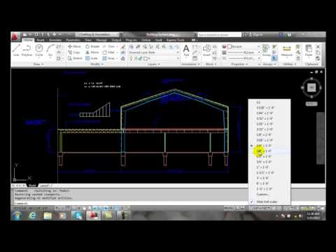 AutoCAD II 30-11 Changing Drawing Scale