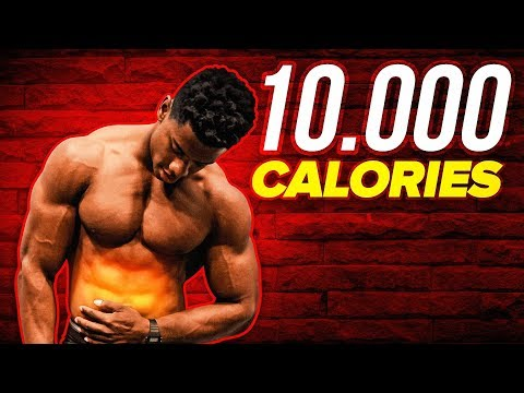 10,000 Calorie Challenge Attempt | EPIC Cheat Day!