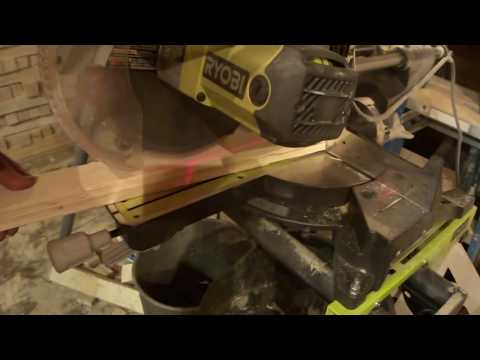 Simple Review Of The Ryobi TSS102L 10 in. Sliding Miter Saw with Stand