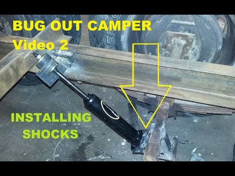 Bug Out camper RV trailer hybrid gets gas shocks 🔩, #2