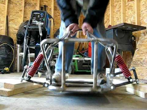 Viper offroad go kart front suspension.