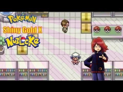 Part:1 ''Battling POOLICK & Carlos'' Pokemon Shiny Gold X Nuzlocke
