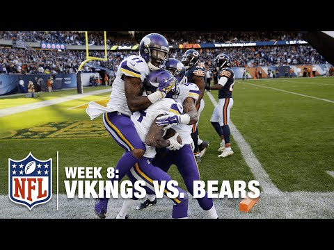 Check Out Stefon Diggs' Moves on this Game-Tying TD Catch! | Vikings vs. Bears | NFL