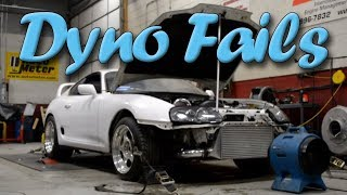 BIG Dyno Fails Engine Explosion Compilation