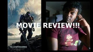TRANSFORMERS: THE LAST KNIGHT REVIEW!!!!