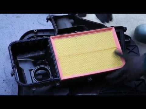 VW Golf/Bora/Jetta 1600 16v Air filter Element replacement - changing and fitting new air filter