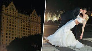 Couple Weds During Blackout at Iconic Plaza Hotel