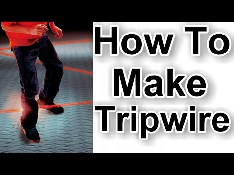 How To Make Tripwire Laser Alarm