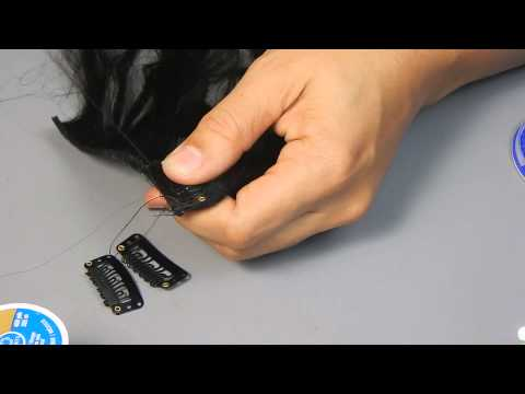 DIY: How to make clip in hair extensions