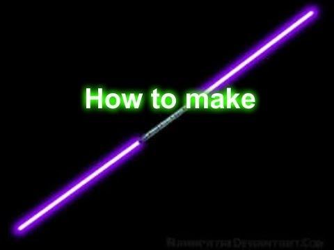 How To Make Lightsaber In Gimp2