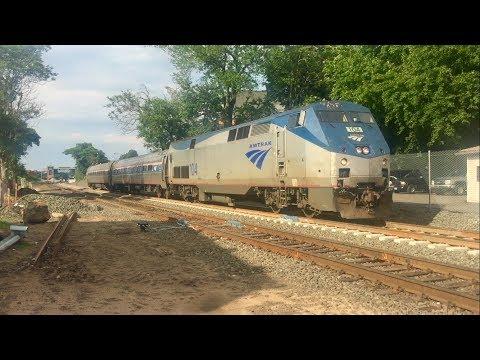 Railfanning Amtrak in Wallingford, CT!