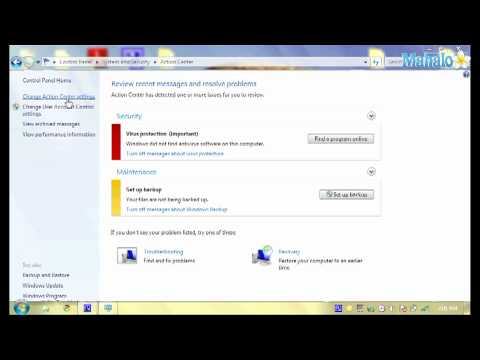 How to Turn on and Off Security Settings in Windows 7